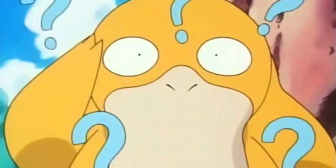 psyduck used confusion, psyduck is confused
